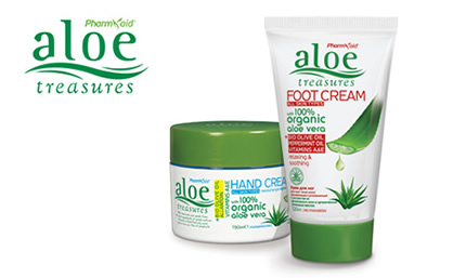 Aloe Treasures косметика из Греции с алоэ вера
