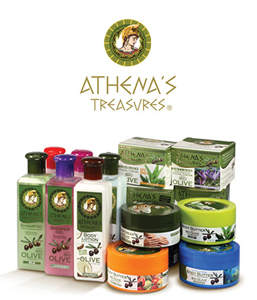 Athenas Treasures косметика из Греции с острова Родос